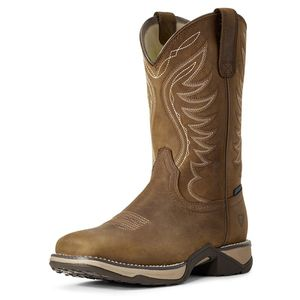 Ariat Women's Fatbaby Anthem H2O Boot - Distressed Brown