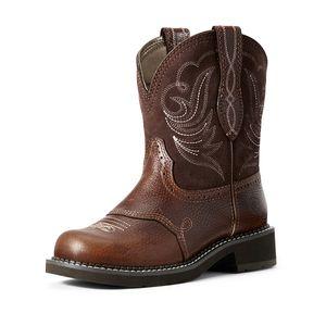 Ariat Women's Fatbaby Heritage Dapper Western Boot - Copper