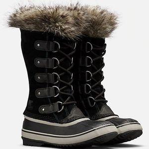 Sorel Women's Joan of Arctic Boots - Black, Quarry