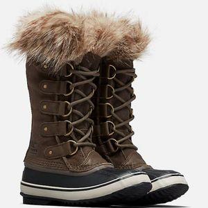 Sorel Women's Joan of Arctic Boots - Major, Dark Stone