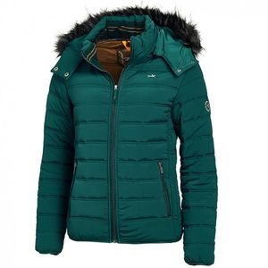Schockemohle Sports Ladies Vanilla Style Quilted Jacket - Ivy Green