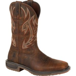 Durango Men's Western Trail Workhorse Boots - Prairie Brown