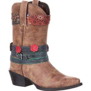 Durango Children's Little Kids' Accesorize Western Boots - Brown