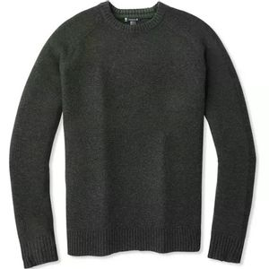 Smartwool Men's Ripple Ridge Crew Sweater - Charcoal Heather