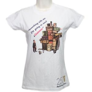 Guinness Suitcases T-Shirt - White