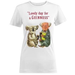 Guinness Koala T-Shirt - White