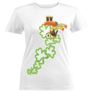 Guinness Eight Clovers T-Shirt - White
