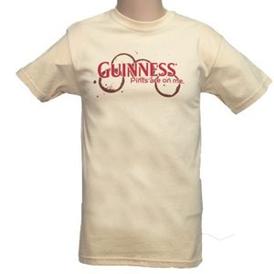 Guinness Pints Are On Me T-Shirt - Yellow