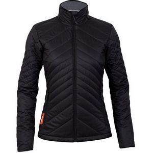Icebreaker Women's Stratus Long Sleeve Zip Jacket - Black/Monsoon