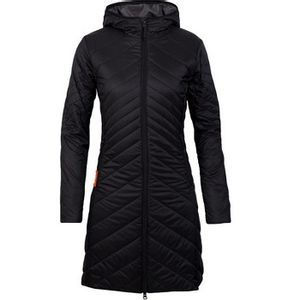 Icebreaker Women's MerinoLoft ¾ Stratus Jacket - Black/Monsoon