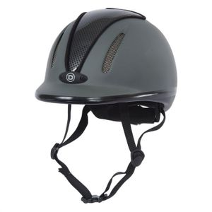 Dublin Jet Riding Helmet - Grey