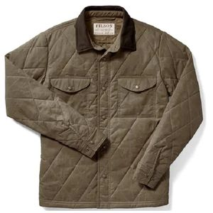 Filson Men's Hyder Quilted Jac-Shirt - Tan