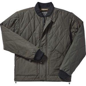 Filson Men's Quilted Pack Jacket - Dark Otter Green