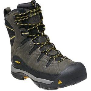 Keen Men's Summit County Winter Boots - Shadow/Yellow