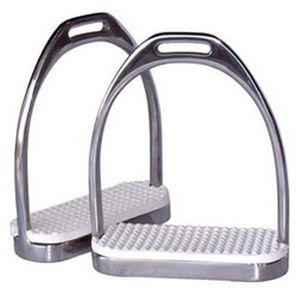 Fillis Stirrup Irons - Nickel Plated