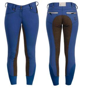 Horseware Ladies Winter Fleece F/S Breeches - Imperial Blue