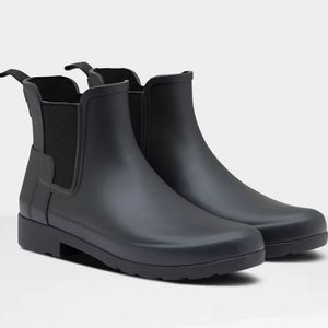 Hunter Women's Refined Slim Fit Chelsea Boots - Black