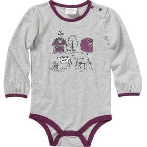 Carhartt Girl's Farm Body Shirt - Grey Heather