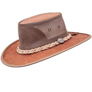 Barmah Kangaroo Cooler Outback Hat - Hickory