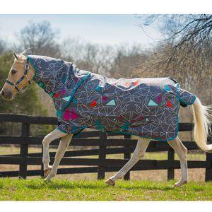 Amigo Pony Plus Rainsheet - Origami/Teal