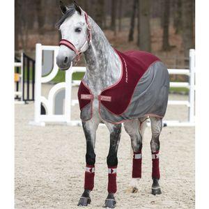 Horseware Fashion Hybrid Cooler - Redwood/Summerberry