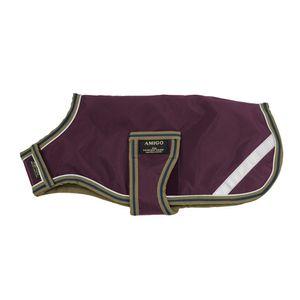 Amigo Dog Blanket - Fig/Navy/Tan