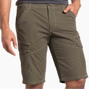 Kuhl Men's Kourage Kargo Shorts - Gun Metal