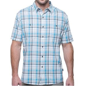 Kuhl Men's Styk Tapered Short Sleeve Shirt - Glacier