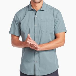 Kuhl Men's Rejectr Short Sleeve Shirt - Bullet Blue
