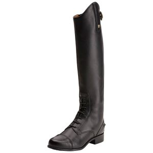 Ariat Youth Heritage Contour Zip Field Boot - Black