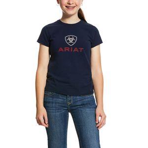 Ariat Girls HD Logo Tee