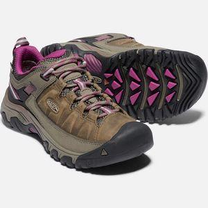 Keen Women's Targhee III Waterproof Hiking Shoes - Weiss/Boysenberry