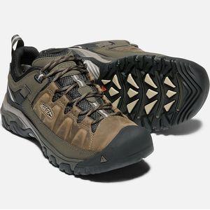 Keen Men's Targhee III Waterproof Hiking Shoes - Bungee Cord/Black