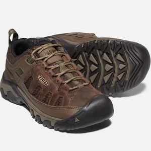 Keen Men's Targhee Vent Hiking Shoes - Cuban/Antique Bronze