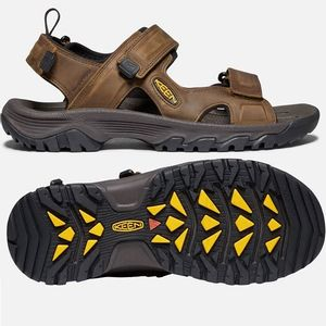 Keen Men's Targhee III Open Toe Sandals - Bison/Mulch