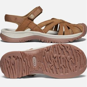 Keen Women's Rose Sandals, Leather - Tan