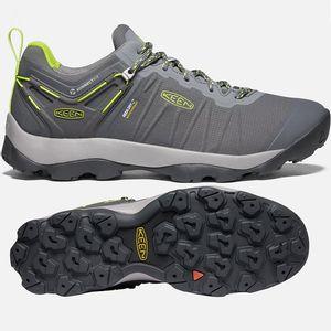 Keen Men's Venture Waterproof Shoes - Magnet/Chartreuse