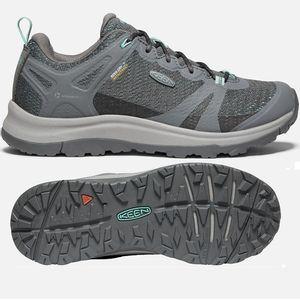 Keen Women's Terradora II Waterproof Hiking Shoes - Steel Grey/Ocean Wave