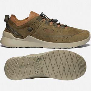 Keen Men's Highland Shoes - Dark Olive/Plaza Taupe