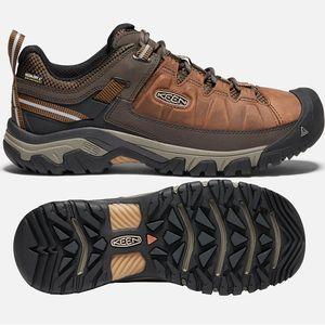 Keen Men's Targhee III Waterproof Hikers - Chestnut/Mulch