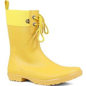 Bogs Women's Flora 2 Eye Rain Boots - Mustard