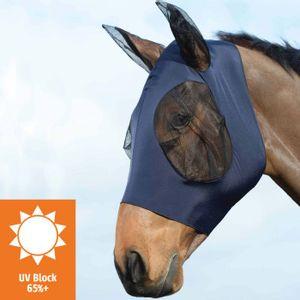 Weatherbeeta Stretch Bug Eye Saver Mask w/Ears - Navy/Black