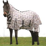 Saxon-Mesh-Fly-Sheet-with-Gusset-Belly-Cover---Combo-Neck---Unicorns-242498