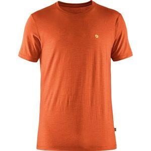 Fjallraven Men's Bergtagen Thinwool Short Sleeve T-Shirt - Hokkaido Orange
