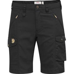 Fjallraven Women's Nikka Shorts Curved Fit - Black