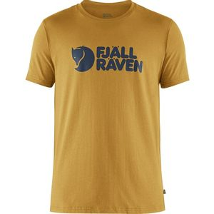 Fjallraven Men's Logo T-Shirt - Ochre
