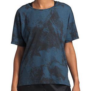 The North Face Women's Workout Short Sleeve T-Shirt - Shady Blue Bucky