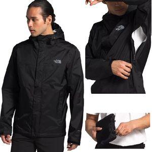 The North Face Men's Venture 2 Jacket - Black/Black/Mid Grey