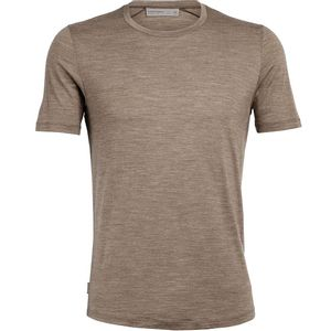 Icebreaker Men's Cool-Lite Sphere Short Sleeve Crewe - Driftwood Heather