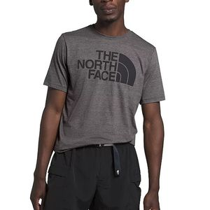 The North Face Men's Short Sleeve Half Dome Tri-Blend Tee - Dark Grey